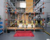 Nuovo campo prove Studio Cetus per addestramento ambienti confinati, lavori in quota e uso dpi terza categoria