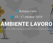 Ambiente Lavoro 16-18 ottobre 2019