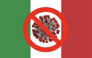 Italian coronavirus sospensione attività